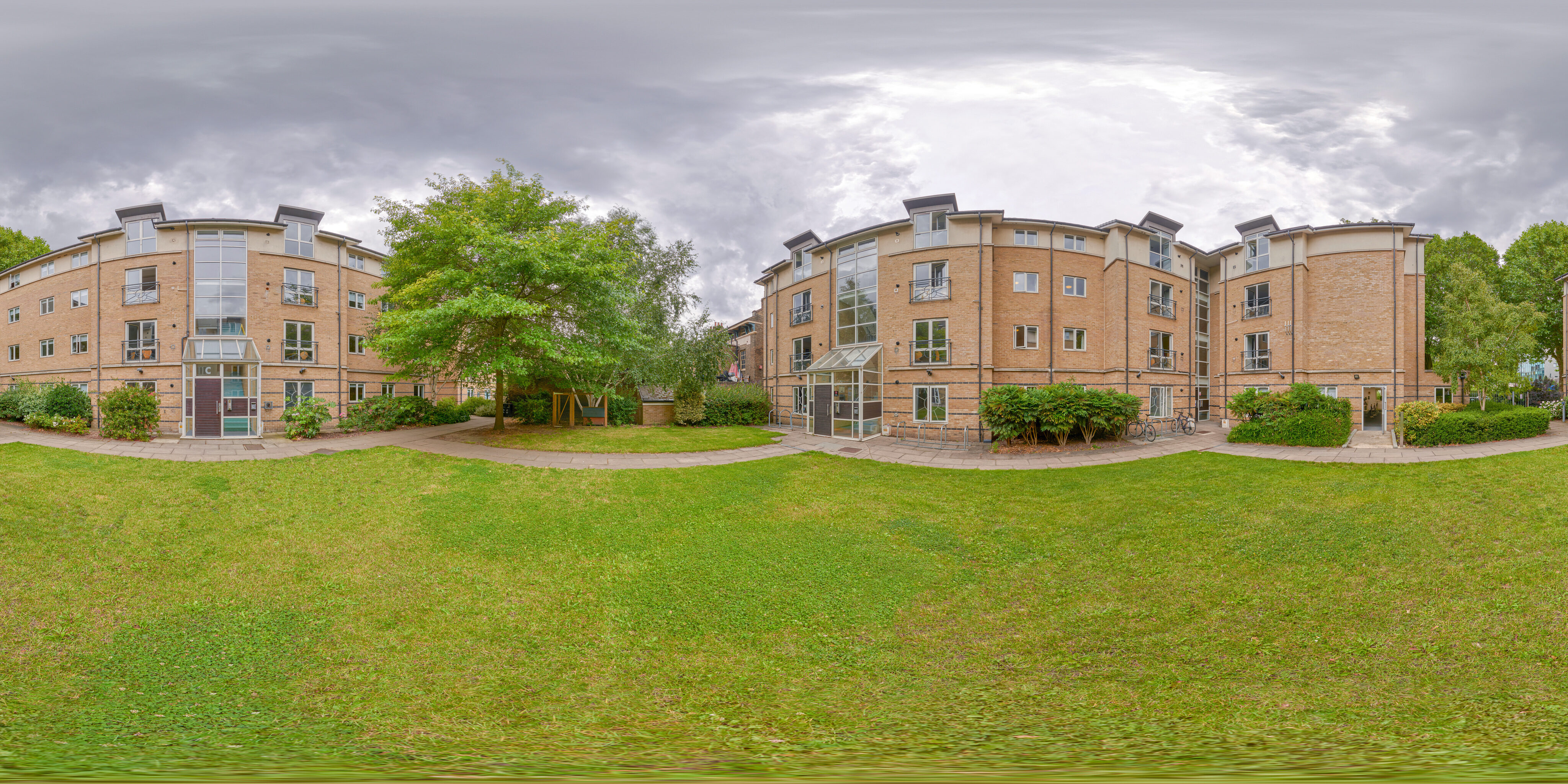 360 of Loring Hall Grounds