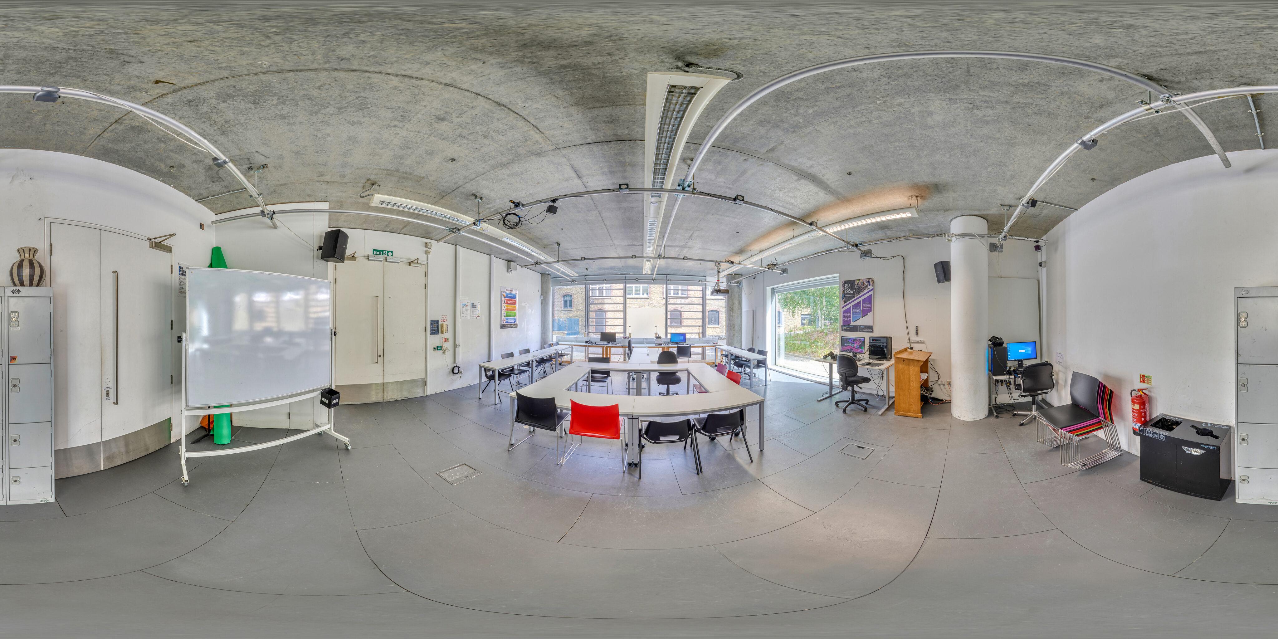 360 of Goldsmiths Digital Studio