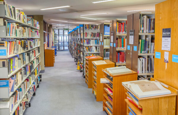 Library upstairs