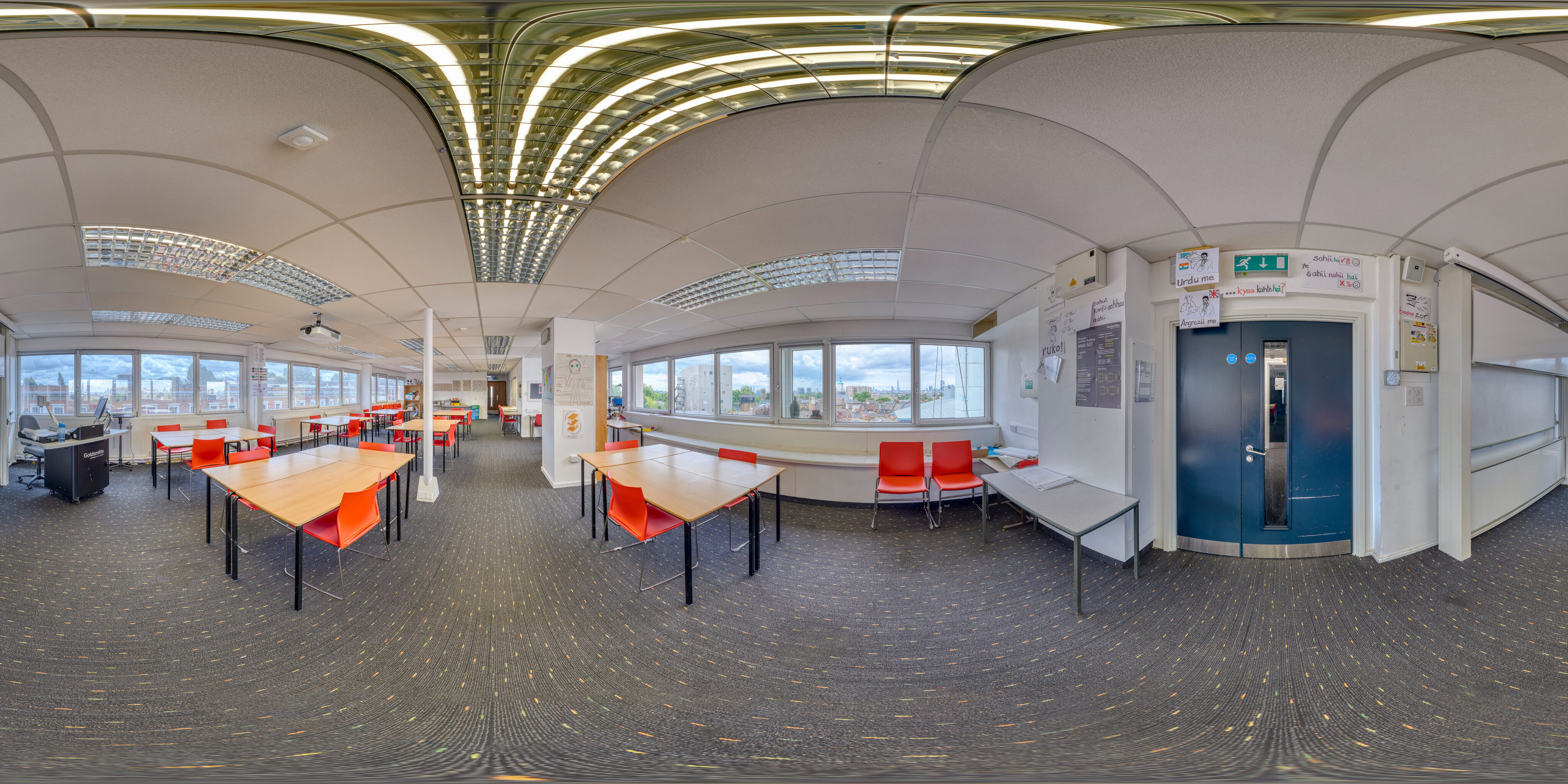 360 of Teaching Space